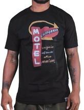 Dissizit! Hommes Noir ou Blanc Motel Californie T-Shirt Nappe Aigles La Nwt