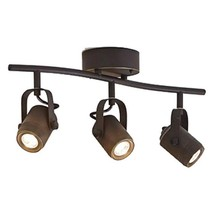 allen + roth Tyslow 3-Light Bronze Dimmable Integrated Led Fixed Track L... - $277.19