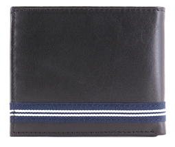 Nautica Men's Genuine Leather Credit Card ID Double Billfold Passcase Wallet image 3