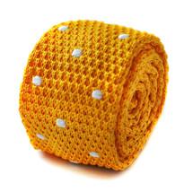 Frederick Thomas tricoté mince jaune vif OR & Blanc - $24.38