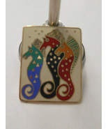 "RARE~Signed Laurel Burch~""Sea Stallions""(Horse)... - $60.00"