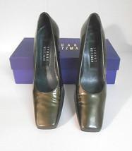 """Stuart Weitzman~Sz 6 1/2B~""""Ash Quasar"""" Patent Leather Pumps/Shoes w/Bloc... - $20.00"""