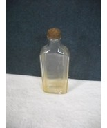 Vintage/Antique~The Chattanooga Medicine Co~Clear Glass Bottle with Cap - $10.00