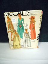 Vintage 1981~McCall's #7395~Size 16/Bust 38~(5) Bridal Dress Designs~Pat... - $7.95