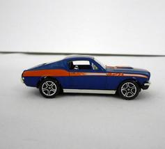 "New w/o Pkge in 1996~Matchbox~""1968 Mustang Cobra Jet in Royal Blue/Orange~1:60 - $10.00"