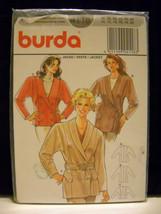 New in Package~1990's~Burda~#4118~Sz 10-20 (3) Jacket Designs~Pattern - $7.95