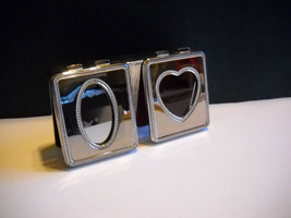 "New w/o Tag~Silver Plated~Unisex~2 Hinged Lids~Jewelry/Trinket Box~8"" L ... - $17.95"