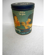 "Vintage 1980~Hershey's USA~""A Kiss For You""~14 oz Round Tin~Free Shipping! - $10.00"