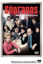 Soprano:  Complete Fourth Season, boxed 4 disc set DVD - $18.95
