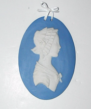 18th c. Wedgwood Portrait Medallion Plaque C Sh... - $100.00