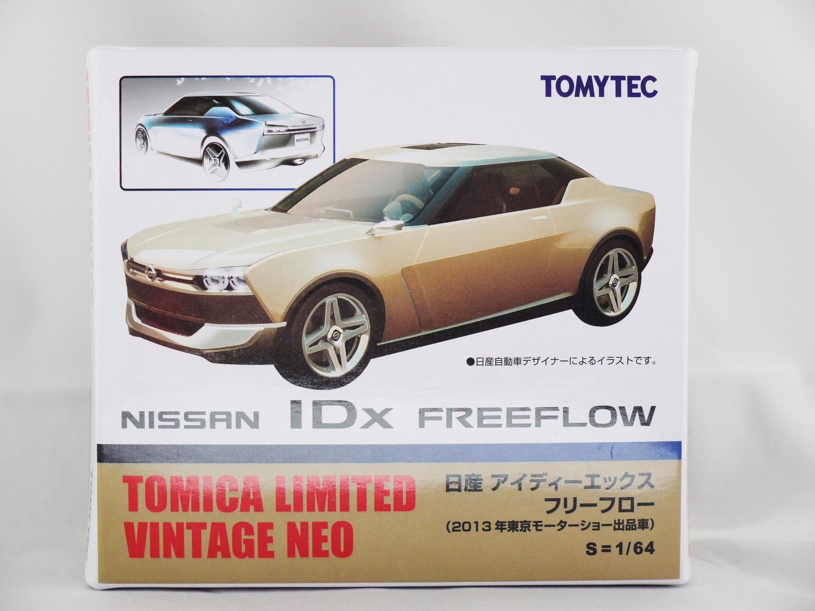 TAKARA TOMY TOMICA LIMITED Race Sport Car VINTAGE NEO NISSAN IDX FREEFLOW  Veh.