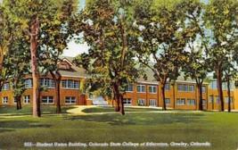 Student Union Building University Northern Colorado Greeley CO linen pos... - $5.89