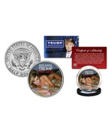 "MELANIA TRUMP ""SEXY"" FIRST LADY 2016 LICENSED U.S. JOHN F. KENNEDY HALF ... - $13.99"