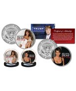 "MELANIA TRUMP ""FIRST LADY"" 2016 U.S. JOHN F. KENNEDY HALF DOLLAR 2 COIN ... - $19.99"