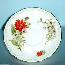 Royal Albert Botanical Teas Dahlia Tea Saucer New - $11.50