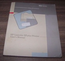 HP LaserJet 2P plus Printer User's Manual Part ... - $6.44