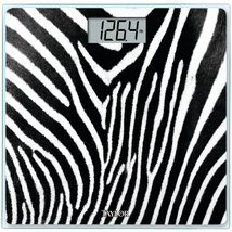 Taylor Glass Digital Bath Scale (Zebra) - $19.99