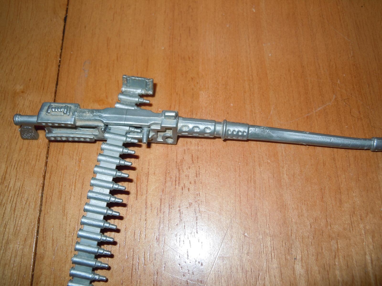 silver machine gun
