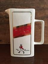 Seton Pottery Johnnie Walker Red Label Old Scotch Whiskey 36 oz Pitcher ... - $30.00
