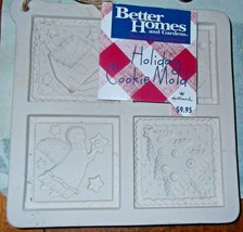 Better Homes and Gardens Holiday Cookie Mold - $9.49