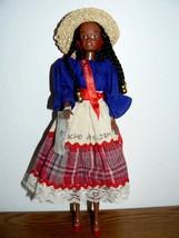 Cultural Dolls 11 1/2 inch Ocho Rios. Jamaica Lady Doll  - $18.32