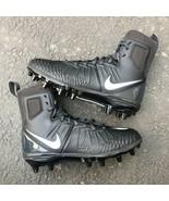 NIKE FORCE SAVAGE VARSITY MEN'S BLACK FOOTBALL CLEATS 880140-010 - $69.99