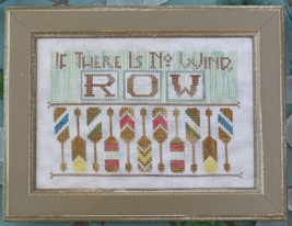Row #12 cross stitch chart Hands On Design - $5.40