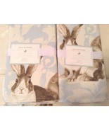 Williams Sonoma Damask Bunny Napkins Set  Eight... - $67.57