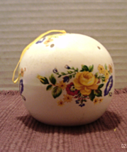 Vintage Ceramic POMANDER BALL // Potpourri Ball... - $8.50