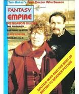 Fantasy Empire Magazine Collector's Edition #2 Doctor Who 1983 UNREAD FINE+ - $3.75