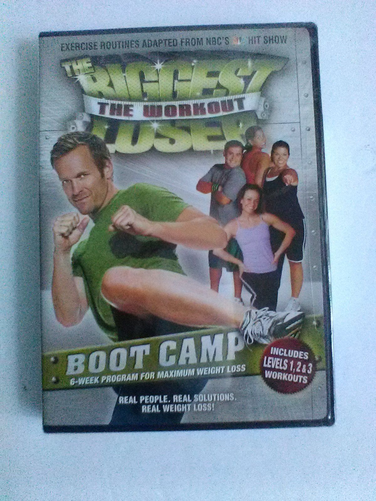 the biggest losers dvd the workout boot camp new physical fitness dvd hd dvd blu ray. Black Bedroom Furniture Sets. Home Design Ideas