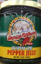 America's Northwest JALAPENO LIME PEPPER JELLY 12oz. (Pack of 5) - $23.66