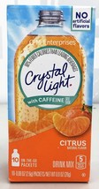 Crystal Light with Caffeine On The Go Citrus Drink Mix 0.9 oz - $5.65