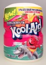 Kool Aid Sharkleberry Fin Drink Mix 19 oz Canister - $4.99