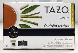 Tazo Zen Green Tea Keurig K Cup Cups - $11.39
