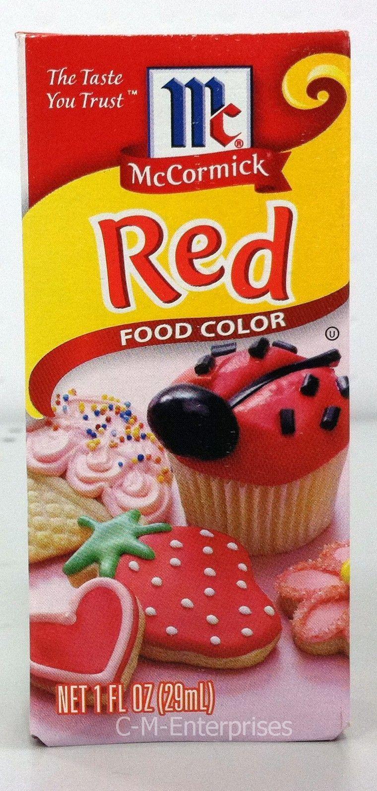 Mccormick Food Coloring: 6 listings