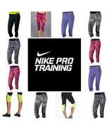 Nike Pro Women's Dri-Fit Compression Spandex Capri Pants FREE SHIPPING N... - $37.35+