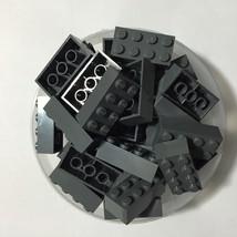 50 New Lego Bulk Lot 2 x 4 Gray Bricks Blocks 2... - $12.38