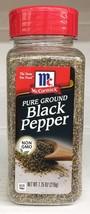 McCormick Pure Ground Black Pepper 7.75 oz - €9,76 EUR