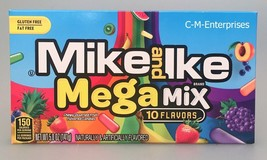 Mike and Ike Mega Mix Chewy Assorted Fruit Candies Theatre Box 5 oz - $3.79