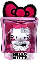 Hello Kitty Limited Edition Collectible Crystal Figure White/Black Target - $17.33