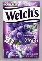 Welchs Grape Drink Mix Singles To Go 0.45 oz We... - $4.50