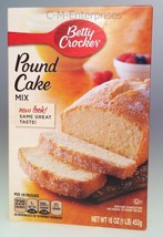 Betty Crocker Pound Cake Mix 16 oz - $5.99