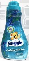 Snuggle Exhilarations Blue Iris & Bamboo Silk Liquid Fabric Softner 32 oz - $7.59
