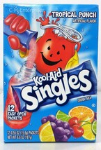Kool Aid On The Go Tropical Punch Drink Mix Singles - $5.69