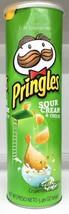 Pringles Sour Cream & Onion Flavored Potato Crisps 5.96 oz - $4.50