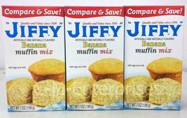 Jiffy Banana Muffin Mix 7 oz (3 pack) - $5.99