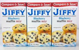 Jiffy Blueberry Muffin Mix 7 oz (3 pack) - $5.99