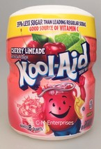 Kool Aid Cherry Limeade Drink Mix 19 oz Canister - $5.25