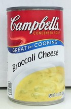 Campbell's Broccoli Cheese Condensed Soup 10.5 oz 3 Cans Campbells - $8.99
